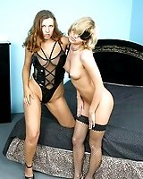 Mistress enjoys her slave